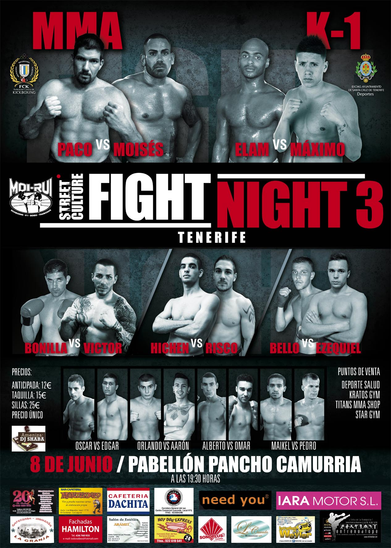 30213 CARTEL FIGHT NIGHT 3