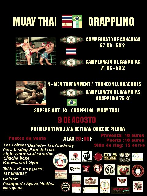09 - agosto 09 Muay Thai - Grappling