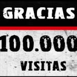 Gracias por las 100.000 visitas