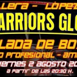 The Warriors Gloves II, velada de boxeo