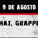 Velada de Muay Thai, Grappling y K1 el 9 de Agosto
