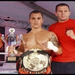 Toni Angulo bicampeón europeo de Kickboxing
