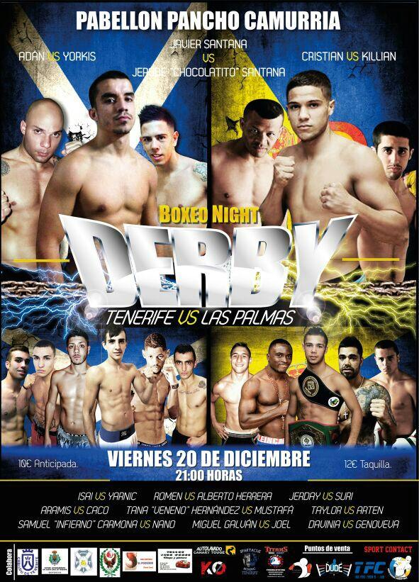 12 - Diciembre 21 DERBY BOXEO