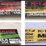 Puntos de venta de entradas K-1 QUarter Final Gran Canaria