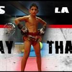 """Vídeo de Ylies """"La Cobra"""" un luchador Muay Thai de 11 años"""