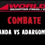 Combate Saul Miranda Vs Adargoma Moreno, K-1 Gran Canaria