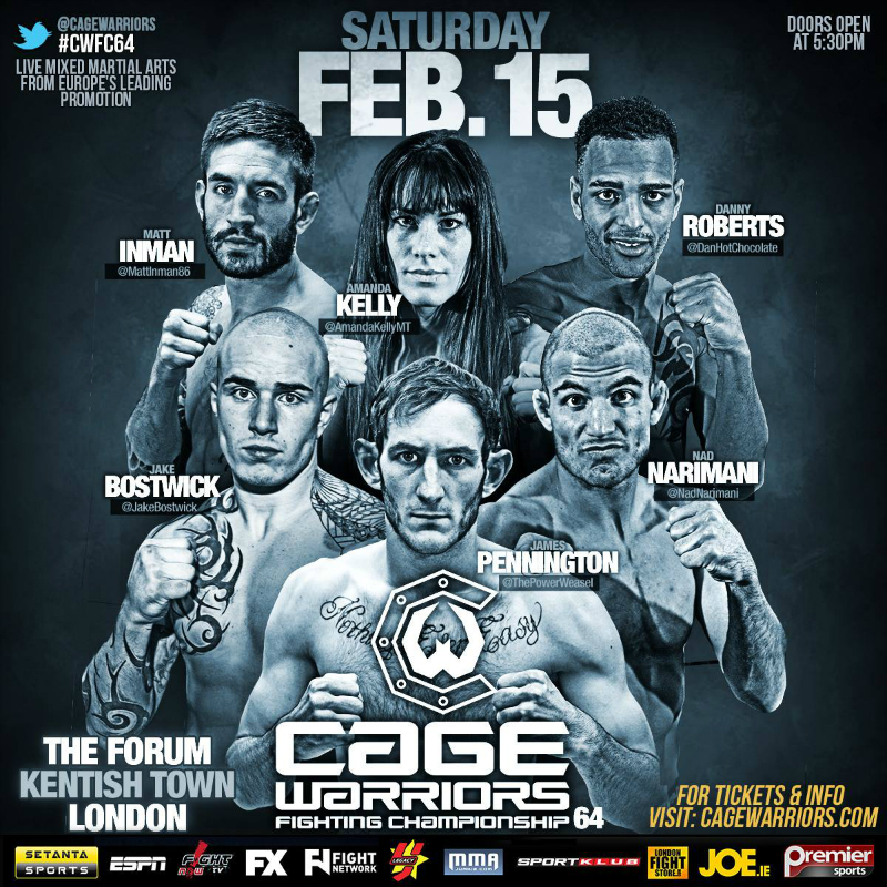 cartel cage warriors 64 2