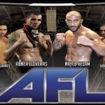 Cartel velada MMA AFL