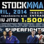 Cartel 1ª Open Stock MMA