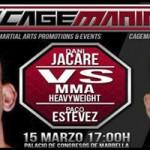 Vídeo combate Paco Estevez en Cagemania 5