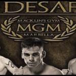 Jonay Risco luchará en Marbella
