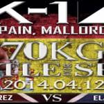 Maximo Vs Elam, K1 Mallorca