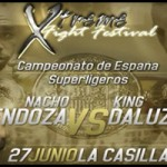 Vídeo combate Nacho Mendoza vs King Daluz