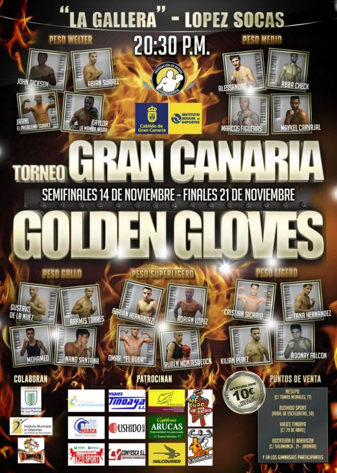 14 y 21 - Noviembre 11 torneo gran canaria golden gloves