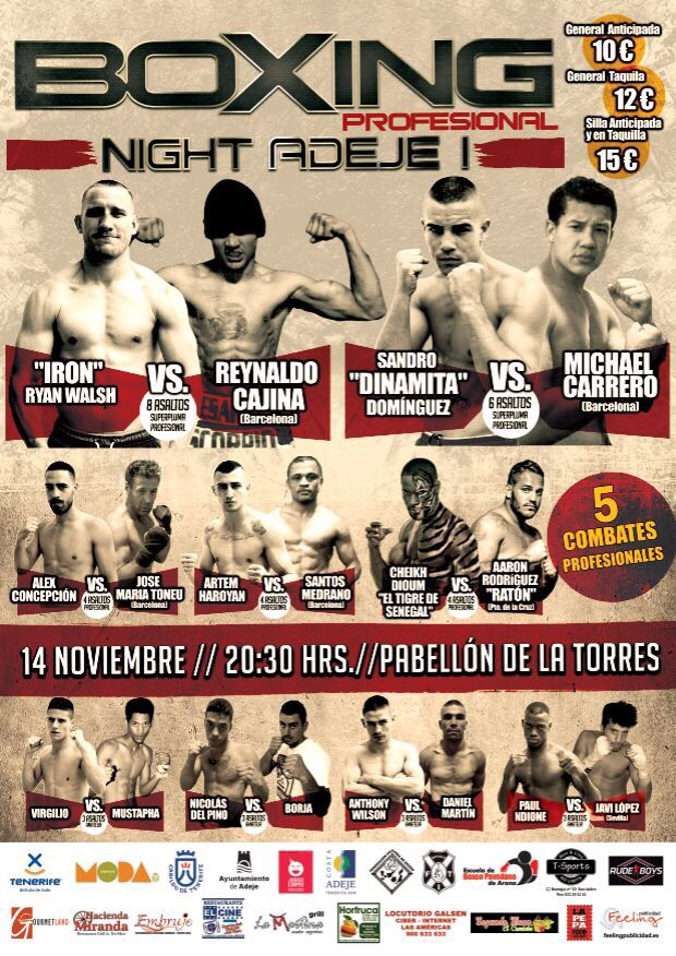 BOXING NIGHT ADEJE