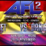 Daniel Requeijo luchará en AFL 2