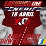 Vídeo de Andy Souwer llegando a Tenerife para luchar en ENFUSION LIVE