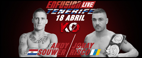andy souwer vs jonay risco