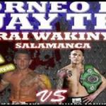 Isaac Araya luchará en el torneo Narai Wakinyan