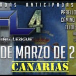 Fight card AFL-4 Canarias