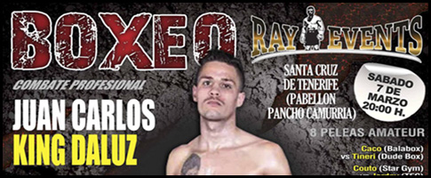 boxeo Juan Carlos King Daluz