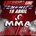 Omar Santana Vs Tato Primera, ENFUSION LIVE Tenerife MMA