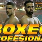 "Jerobe ""Chocolatito"" Santana y Nebil ""Sultán"" Krissi, Boxeo Profesional"