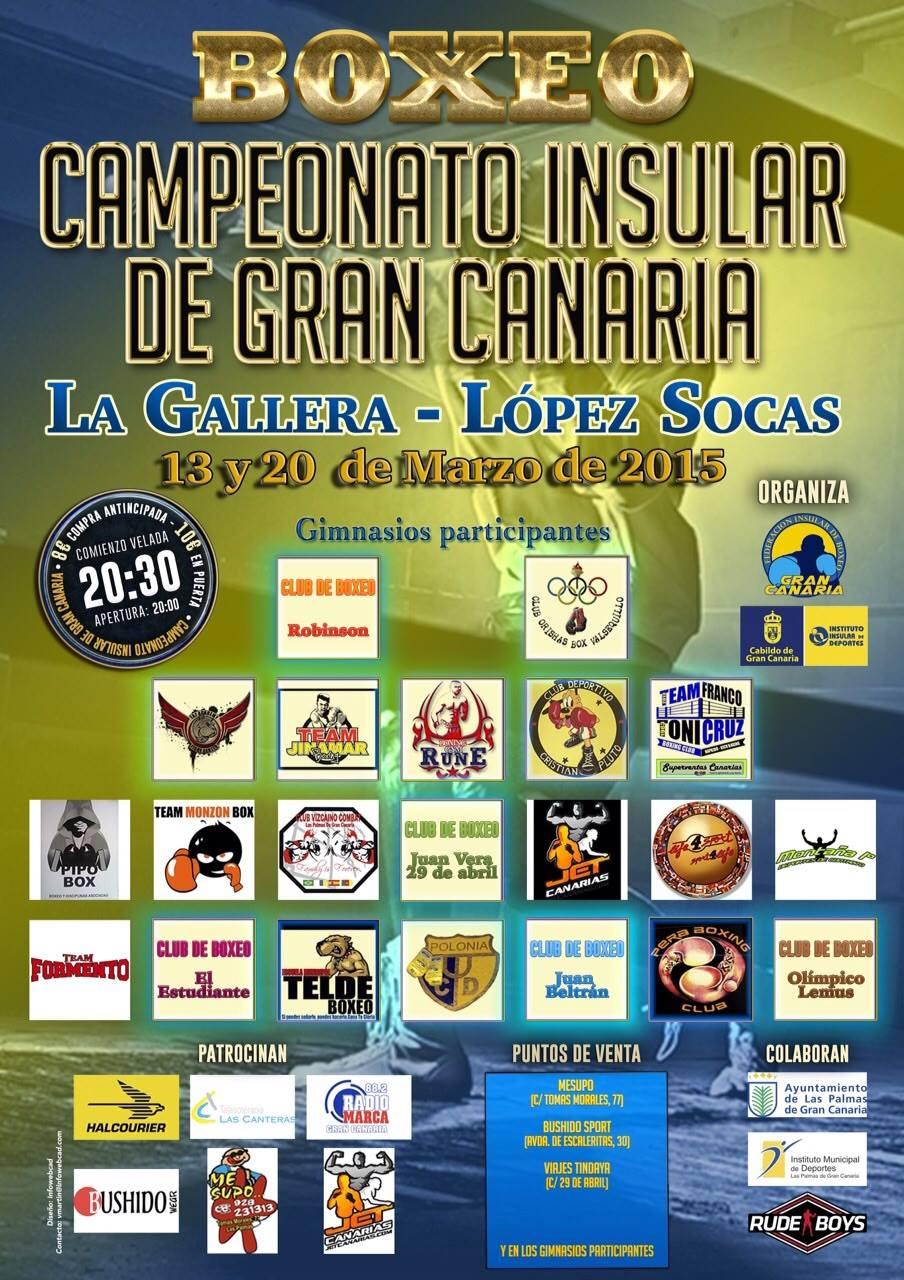 campeonato insular Gran Canaria