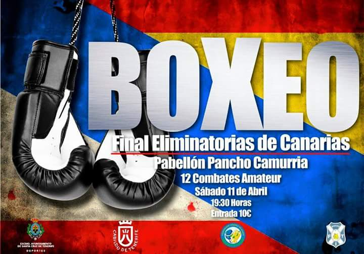 final eliminatorias de canarias cartel