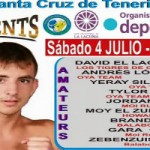 "Cartel definitivo boxeo debut ""CACO"""