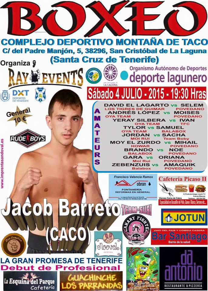 cartel definitivo boxeo caco