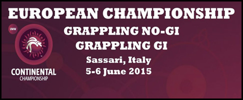 europeo grappling recortada