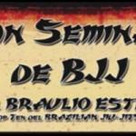 Cambio lugar seminario BJJ, Braulio Estima