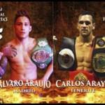 Los hermanos Araya lucharán en Murcia