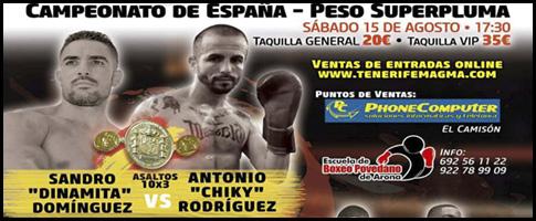 boxeo campeonato de españa sandro