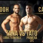Lugar pesaje de la velada Boxeo en La Palma
