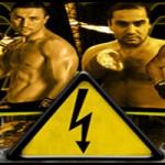 Cartel velada Boxeo, ALTA TENSIÓN