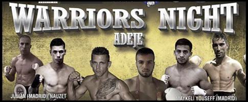 warriors night adeje