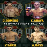 Carlos Araya y Dávid Medero ganan en Ultra Elite Fighters