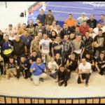 Fotos Boxeo solidario en el Pancho Camurria, por Déniz