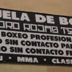 """Nueva escuela de Boxeo Toro Rojas Team, Adasat """"Toro"""" Rojas"""