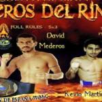 David Mederos y Kevin Vidal lucharán en Murcia
