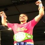 """Jerobe """"Chocolatito"""" nuevo campeón del mundo Junior WBC"""