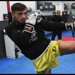 Entrevista a Maikel García ante su próximo combate
