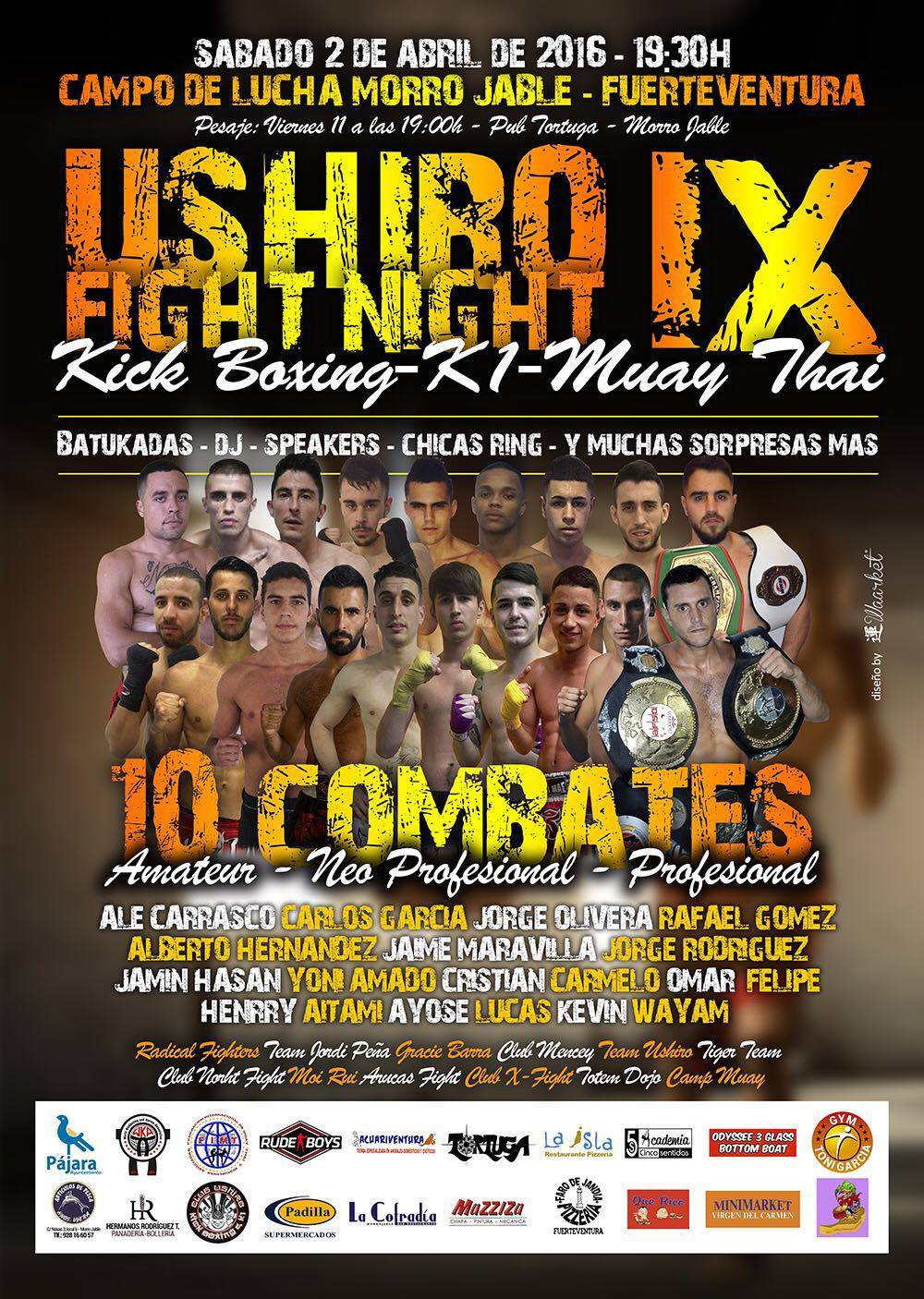 ushiro fight night IX