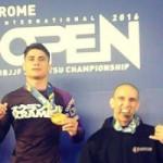 Adriano de Oliceira campeón europeo No Gi