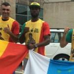 Cheik Dioum a por el título Unión Africa Boxing