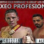Cartel velada Cristian Rodríguez, Boxeo Profesional