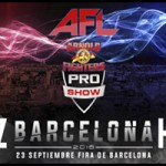 Juanma Suarez en AFL Arnold Fighters