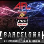 Juanma Suarez en AFL Arnold Fighters
